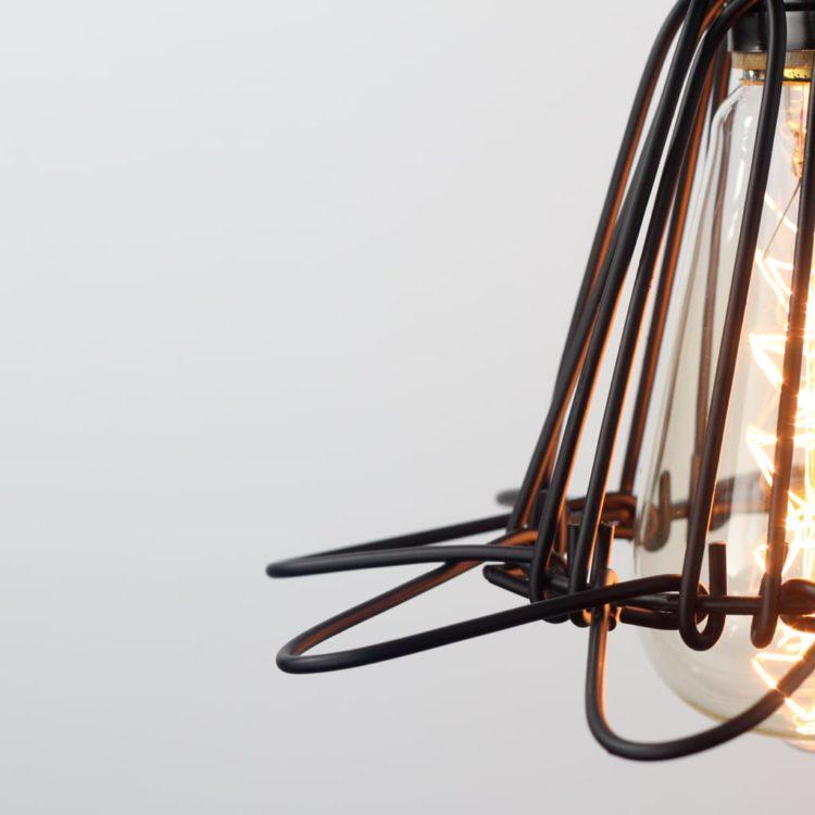 Vintage Cage Pendant Light 6 - Pendant Lighting - iD Lights
