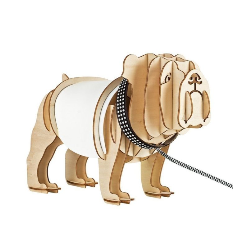 Cute Bulldog Table Lamp
