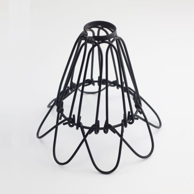 Vintage Cage Pendant Light - restaurant-bar, pendant-lighting