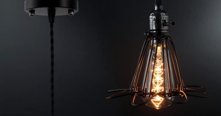 Vintage Cage Pendant Light 1 - Pendant Lighting - iD Lights