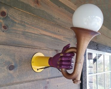"Getting a ""handle"" on outdoor lighting at the workshop"