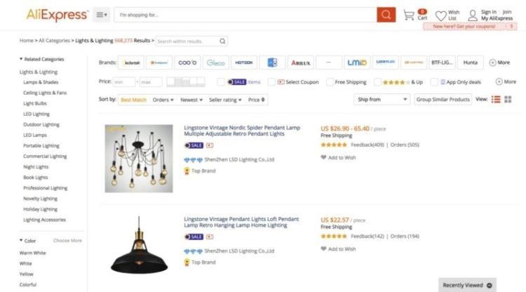Best Online Lamp Shops