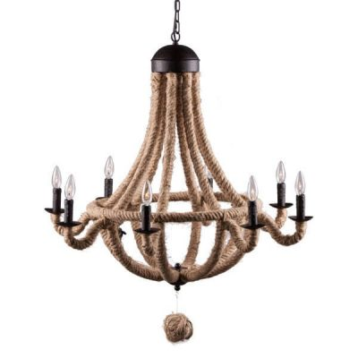 Celestine Natural Ropes Chandelier