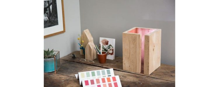 How to Create a Simple Wooden Bedside Lamp