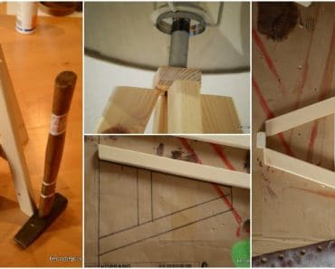 How to Make a Wood Lamp Easily