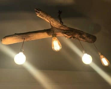 Unique Wood Lamp