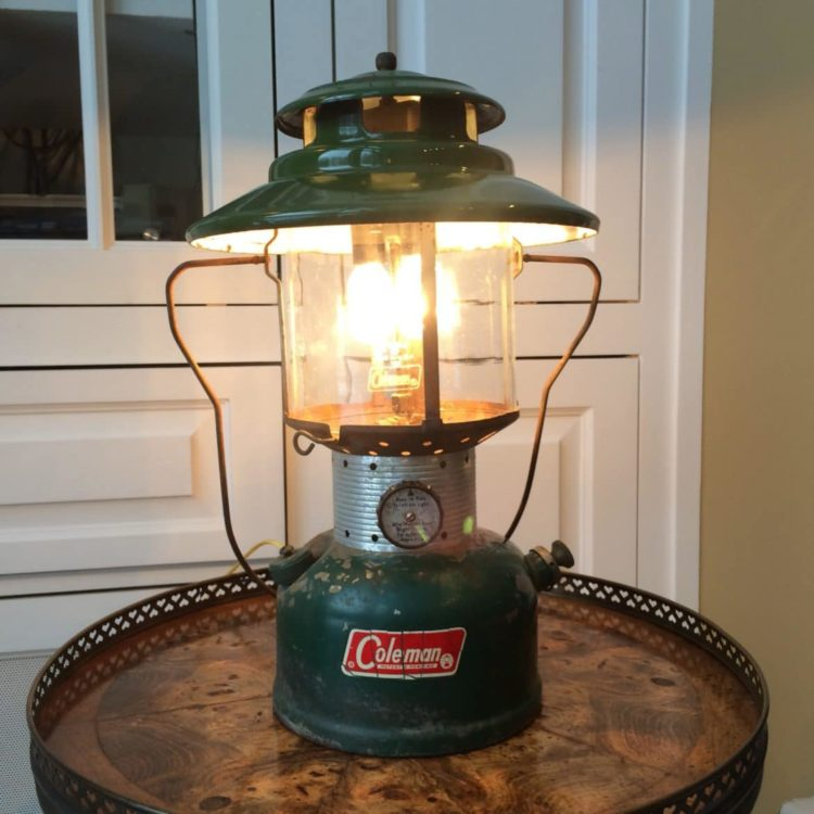10 Lantern Table Lamps Vintage Selection   Table Lamps