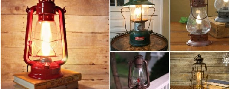 10 Lantern Table Lamps Vintage Selection