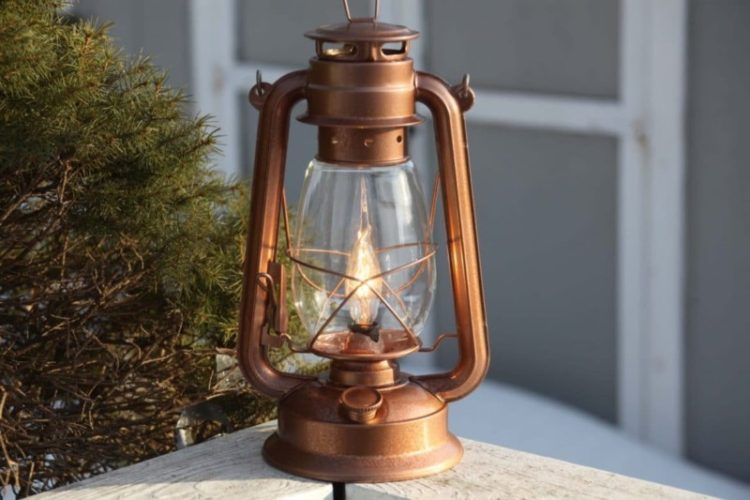 10 Lantern Table Lamps Vintage Selection - table-lamps