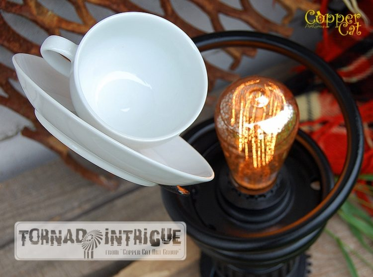 Cup of Tea Steampunk Table lamp Desk Lamps