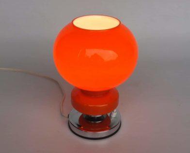 Orange Table Lamps Selection Id Lights