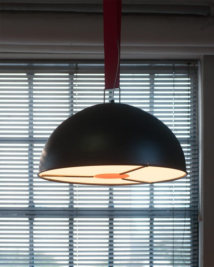 Big Strap Lamp ONE - pendant-lighting
