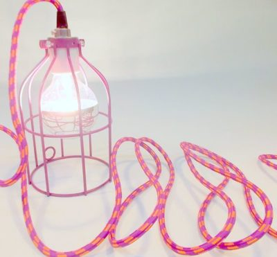 Customize an Industrial Cage Lamp