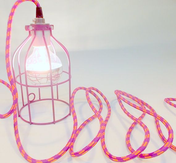 Customize an Industrial Cage Lamp - pendant-lighting