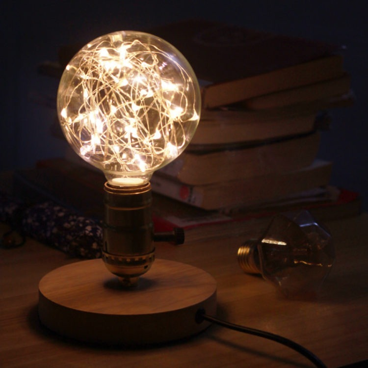 Awesome Vintage String Led Light Bulb Id Lights