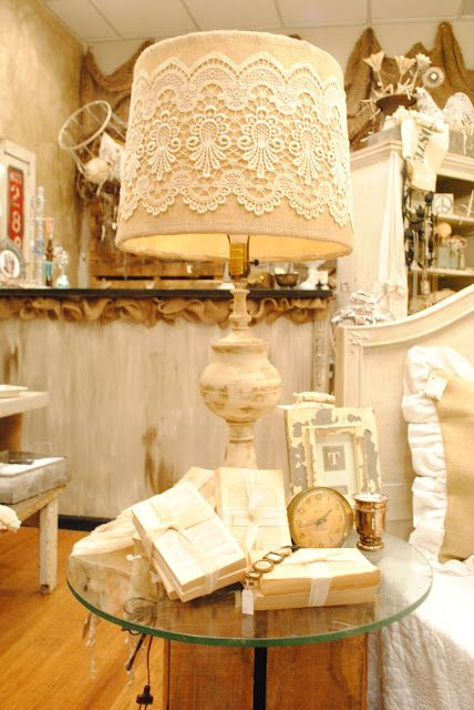 12 Original Shabby Chic Lighting Ideas