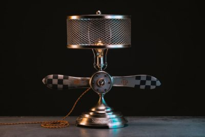 Aviation Propeller Table Lamp