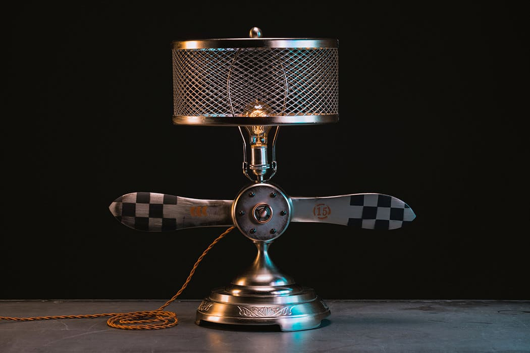 Aviation Propeller Table Lamp Id Lights