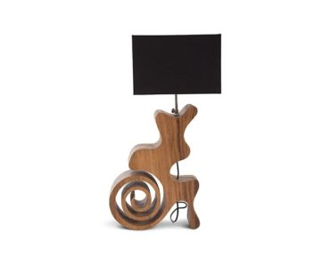 Curly Spiral Table Lamp