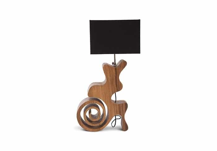 Curly Spiral Table Lamp - table-lamps
