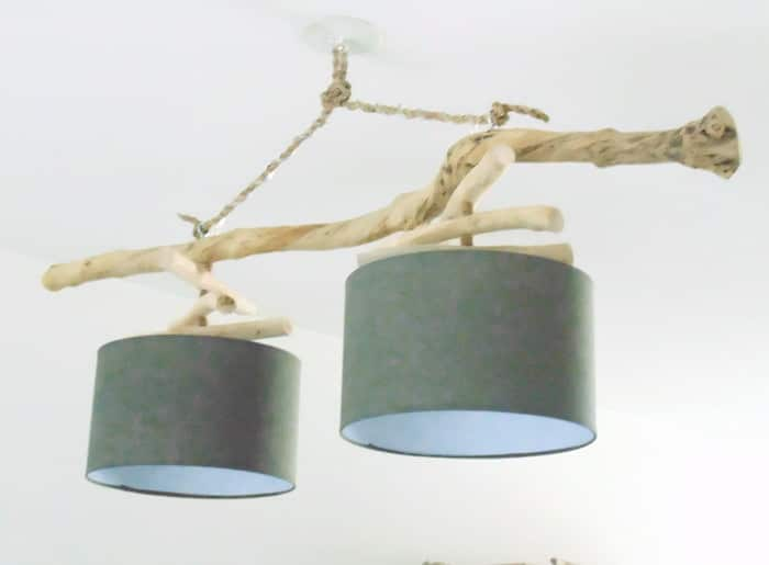 Double Driftwood Chandelier Chandeliers