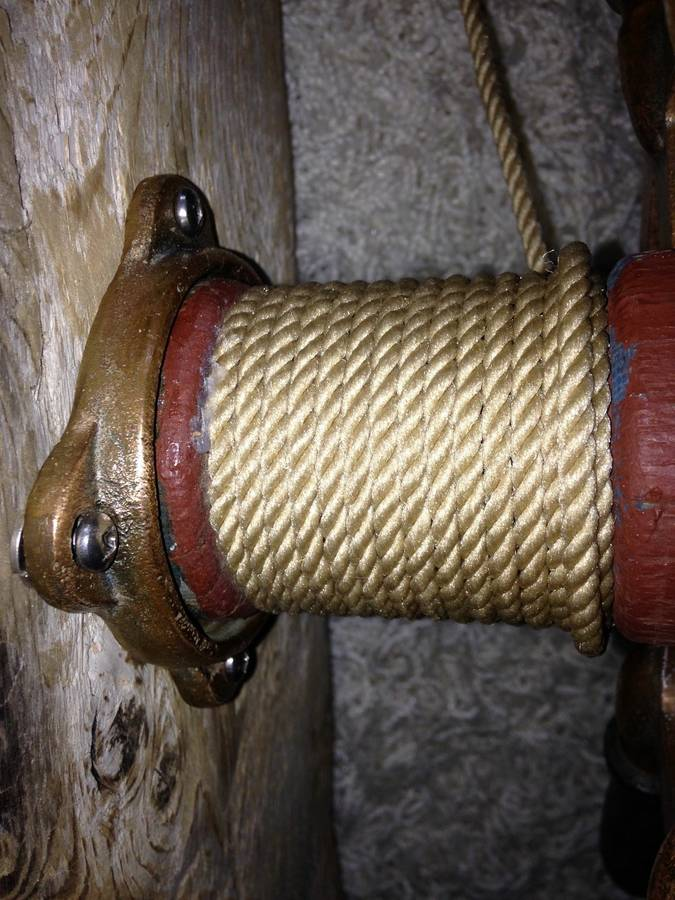 Antique Ship Wheel Drift Wood Lamp Wall Lamps & Sconces