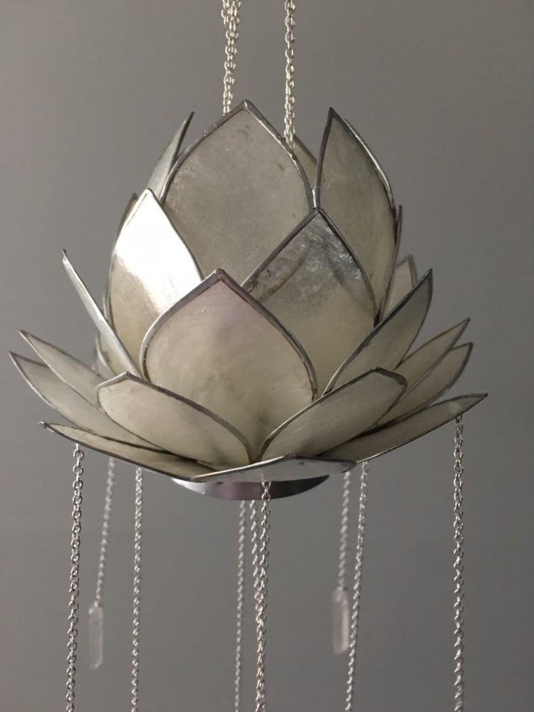 Crystal Lotus Bohemian Chandelier - pendant-lighting