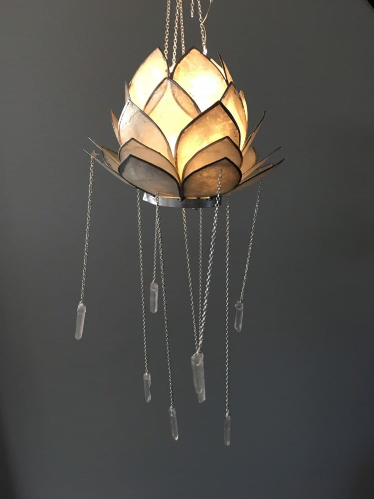Crystal Lotus Bohemian Chandelier Id Lights