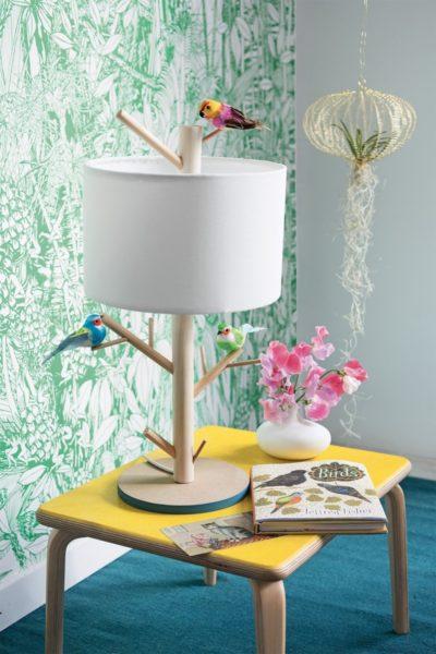 Make an Amazing Bird Perch Lamp