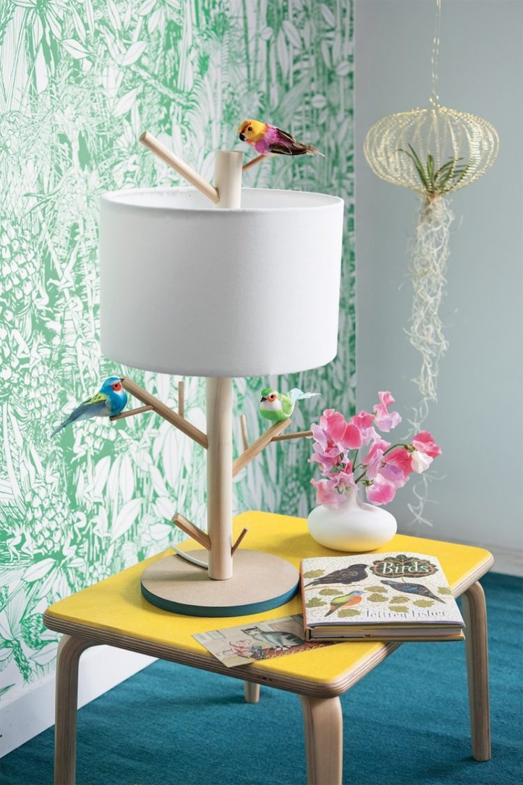 Make an Amazing Bird Perch Lamp - table-lamps