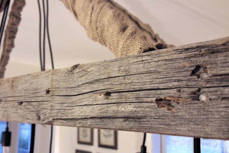 Vintage Farmhouse Ladder Chandelier - chandeliers