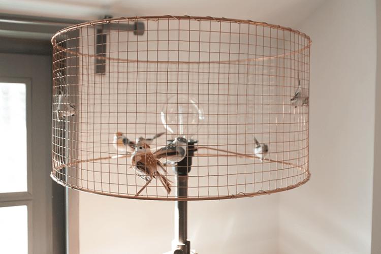 Diy Bird Cage Lamp Id Lights