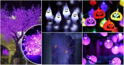 8 Halloween Decoration Lights for 2017 Party