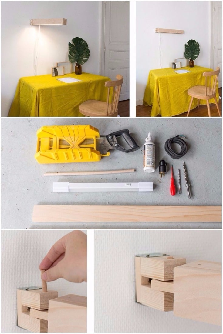 Make a Pretty Articulated Wall Mounted Lamp - wall-lights-sconces