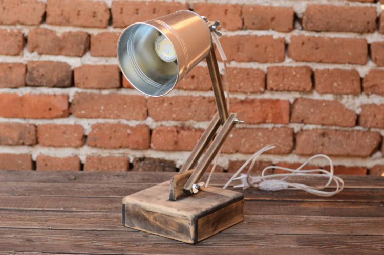 Office lamp Wooden Desk Lamp 11 - Desk Lamps - iD Lights