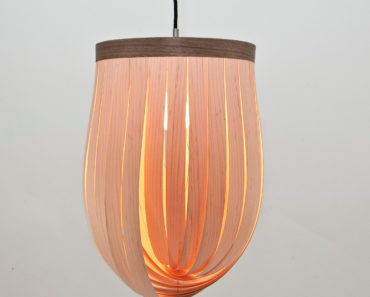 Adjustable Pendant Lamp from Wood - pendant-lighting