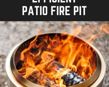 Super Efficient Patio Fire Pit (1)