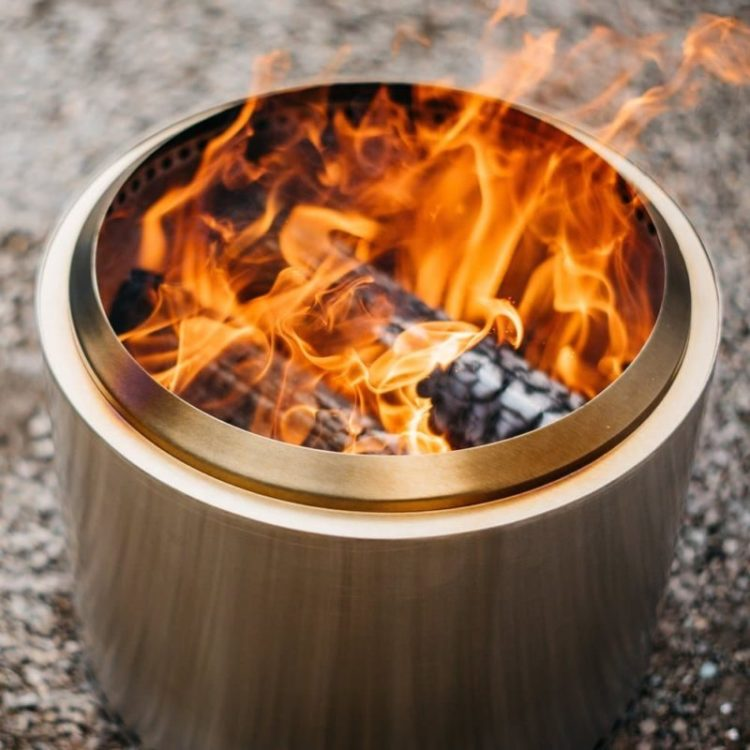 Super Efficient Patio Fire Pit
