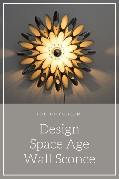Design Space Age Wall Sconce