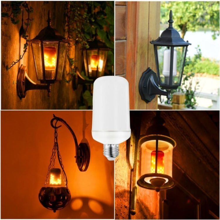 Christmas 2018 Best LED Flickering Flame Bulbs - outdoor-lighting