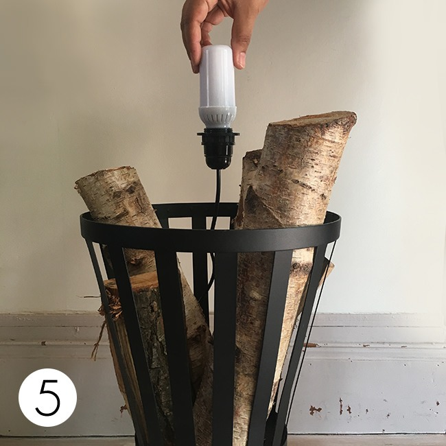 DIY Warm and Safe Atmosphere with Flame Effect Bulb - floor-lamps