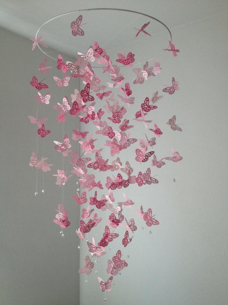 Butterfly Mobile Chandelier - chandeliers