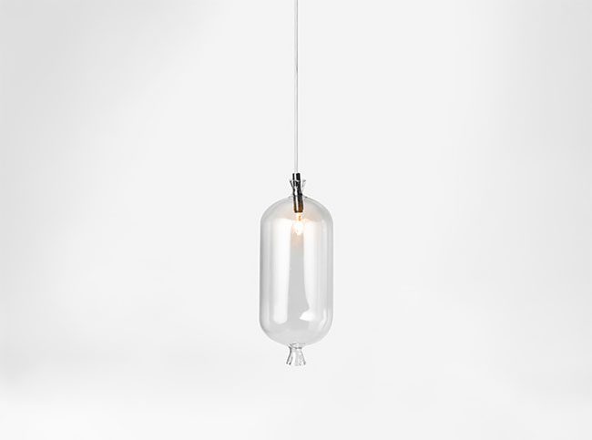 Strange Lighting with Sausage Shapes - pendant-lighting