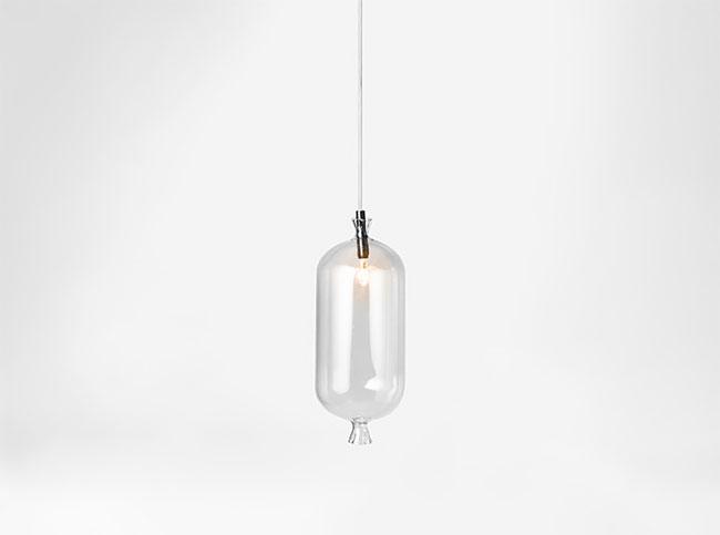 Strange Lighting with Sausage Shapes 3 - Pendant Lighting - iD Lights
