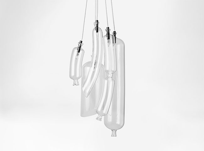 Strange Lighting with Sausage Shapes 7 - Pendant Lighting - iD Lights