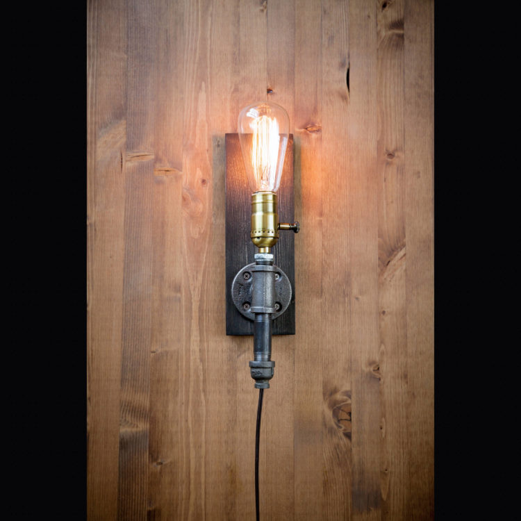 Plug in Farmhouse Wall Sconce - wall-lights-sconces