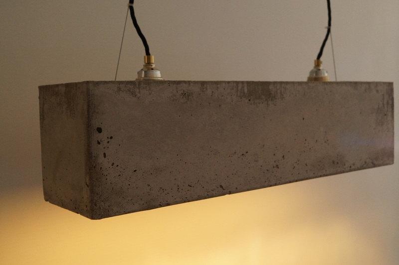Concrete Pendant Lamp 1 - Pendant Lighting - iD Lights