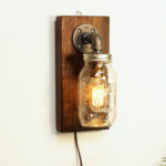 Mason Rustic Wall Lamp