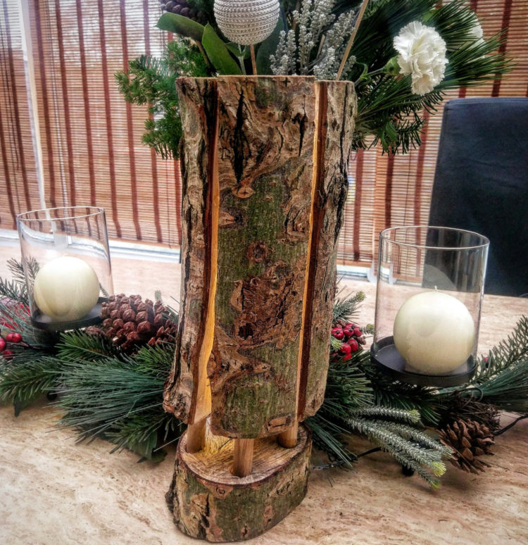 Wooden Floor Lamp Christmas Gift - table-lamps