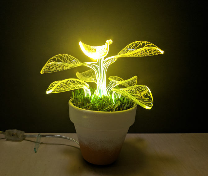 Unique Housewarming Indoor Plant Lamp - desk-lamps
